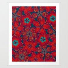 NEW BAUHINIA Art Print