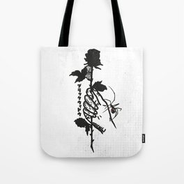 Blackwidow & Rose Tote Bag