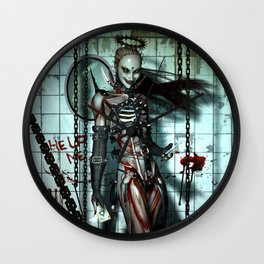 The Sweet Suffering Wall Clock