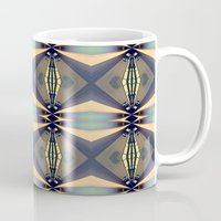 art deco Mugs featuring Art-deco by I-lin