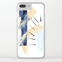 Minimal Expressions 03 Clear iPhone Case