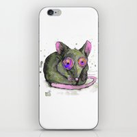rat iPhone & iPod Skins featuring Rat by Bwiselizzy