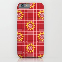Red Hot Sunny Days iPhone Case