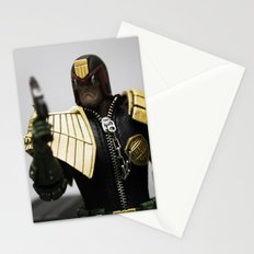 I AM THE LAW! Stationery Cards