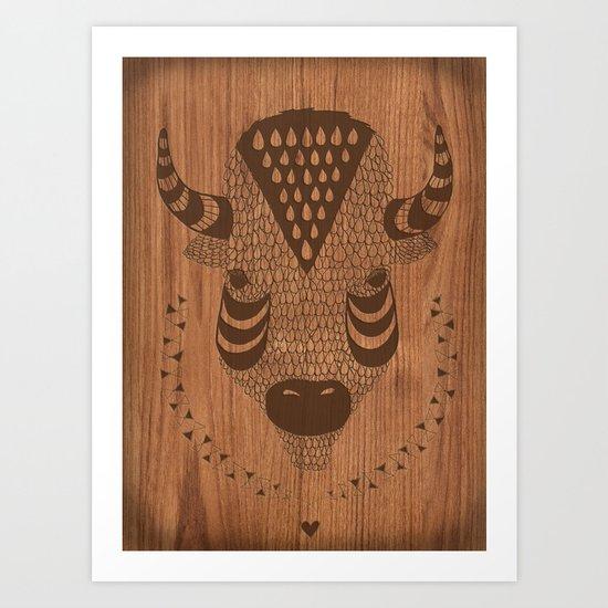 Buffalo No.2 Art Print