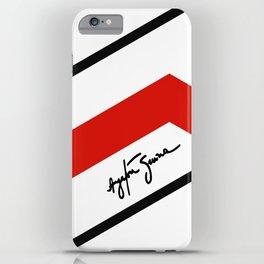 Ayrton Senna Mclaren Honda Formula 1 iPhone Case