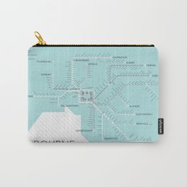 Melbourne Metromap Carry-All Pouch