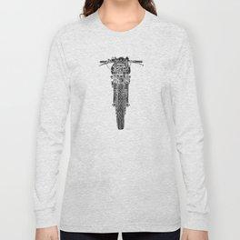 Vintage Italian 860 GTS Motorcycle Long Sleeve T-shirt