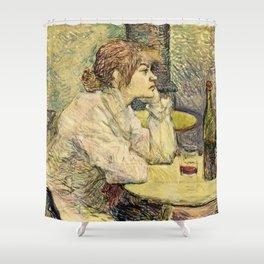 Henri De Toulouse Lautrec - The Hangover Shower Curtain