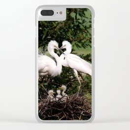The Couple Clear iPhone Case