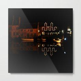 night in Bruges Metal Print