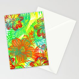 Etched Anemone Stationery Cards