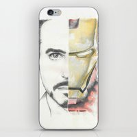 ironman iPhone & iPod Skins featuring Ironman by Dave Seedhouse.com