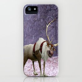 Reindeer Are Better Than People iPhone Case
