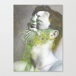 Sceleton boy Canvas Print