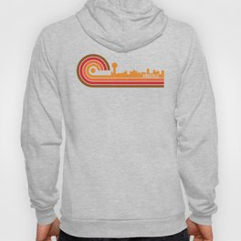 Retro Style Knoxville Tennessee Skyline Hoody