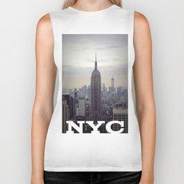 Empire State Building Biker Tank