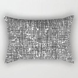 Crosshatch Rectangular Pillow