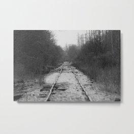 Ohio Tracks Metal Print