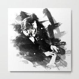 Piano Genius Arrau Metal Print