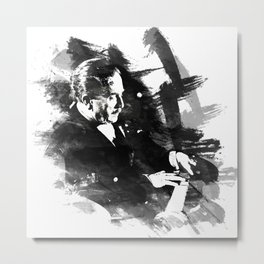 Piano Genius Arrau Metal Print