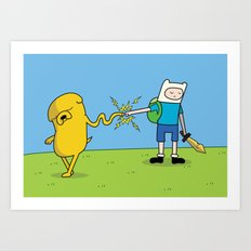 The Fun Will Never End, Brother Art Print