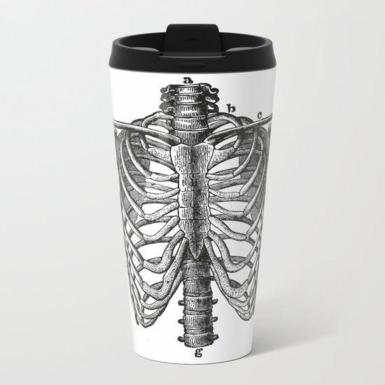 Ribcage Metal Travel Mug