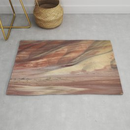 Hills Painted by Earth Minerals Rug