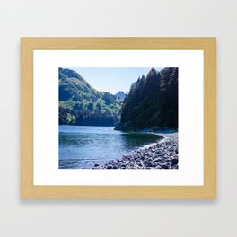 Kodiak Beach Photography Print Framed Art Print