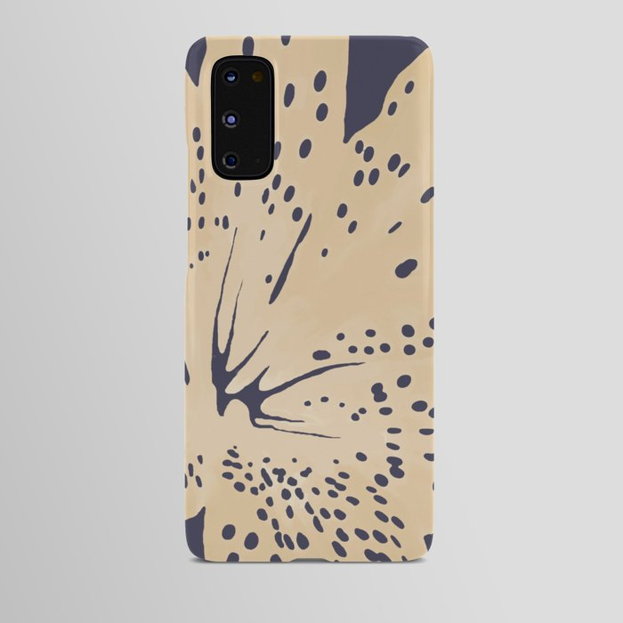 Android case  Soybean lily on eclipse blue    |     society6.com