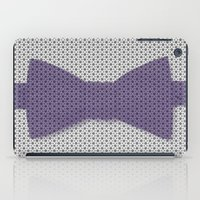 bow iPad Cases featuring bow tie by clemm