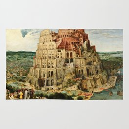 Pieter Bruegel The Elder - Babylon. Rug