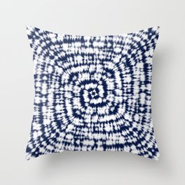 Tie Dye 7 Throw Pillow