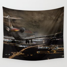 Wind 360 20 kts clear to land Wall Tapestry