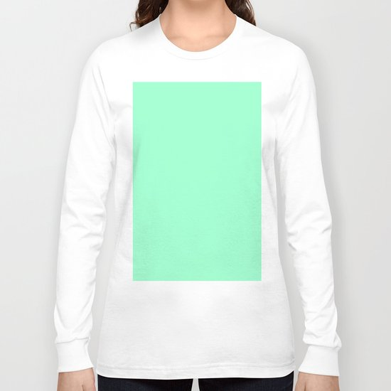 Mint Meringue Long Sleeve T-shirt