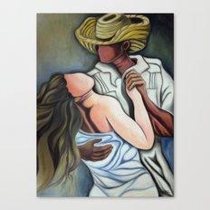 Dancing (Bailando) Canvas Print