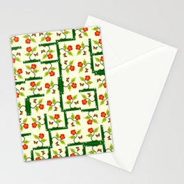 Plants and flowers Stationery Cards