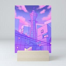 Pastel Osaka Mini Art Print