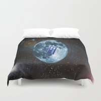 dr who Duvet Covers featuring dr who by store2u