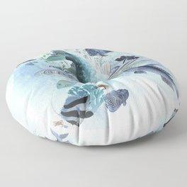 Gone Fishin' Floor Pillow
