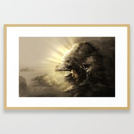 The Stormqueen Framed Art Print