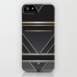 Art deco design IV iPhone Case
