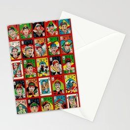 Baseball Menko Stationery Cards