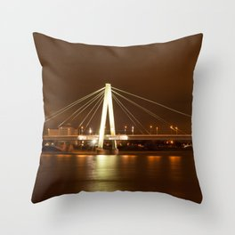 Cologne at Night Throw Pillow
