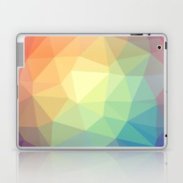 LOWPOLY RAINBOW Laptop & iPad Skin