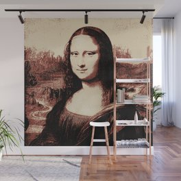 Mona Lisa Vintage Wall Mural