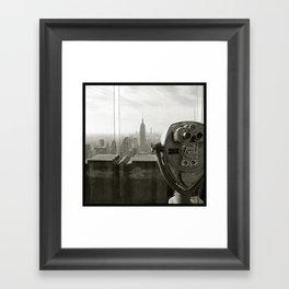'EMPIRE 2012' Framed Art Print
