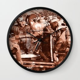 Roman Legion Wall Clock