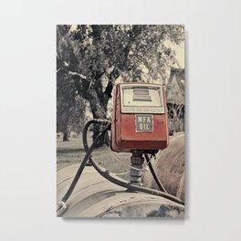 MFA OIL Metal Print