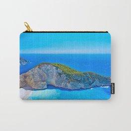 Navagio Beach Greece Carry-All Pouch